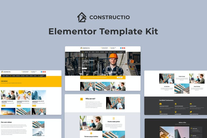 Cover Image For Constructio - Architecture & Construction Template Kit