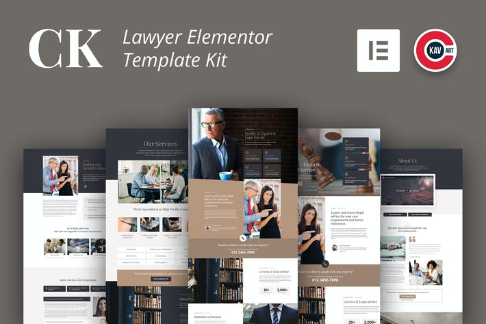 Thumbnail for CK - Lawyer Template Kit