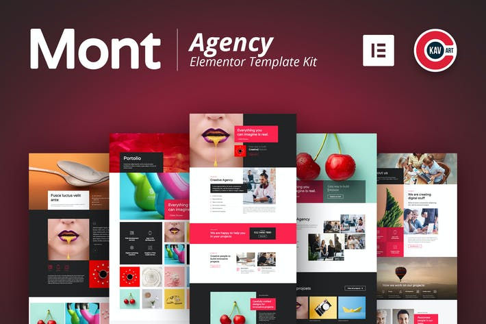 Cover Image For Mont - Agency Template kit