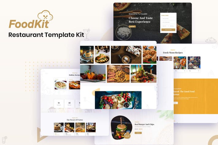 FoodKit - Restaurant Template Kit