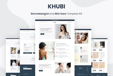 Khubi - Dermatologe & Hautpflege-Vorlage -Set