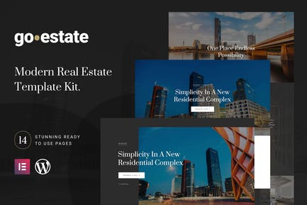 Go Estate - Real Estate Template Kit