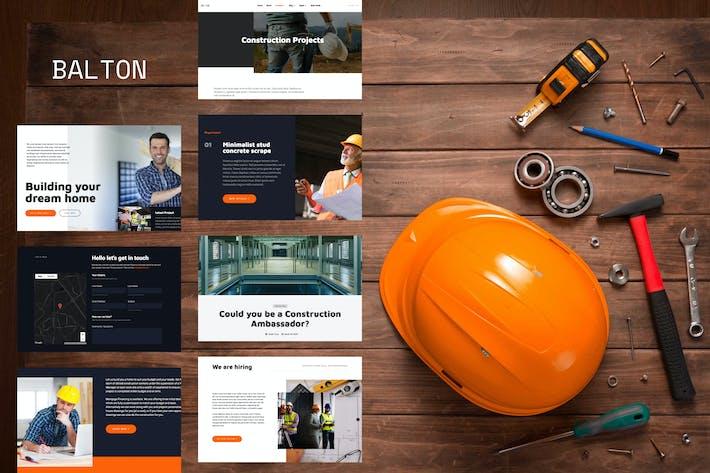 Thumbnail for Balton - Construction & Architecture Template Kit