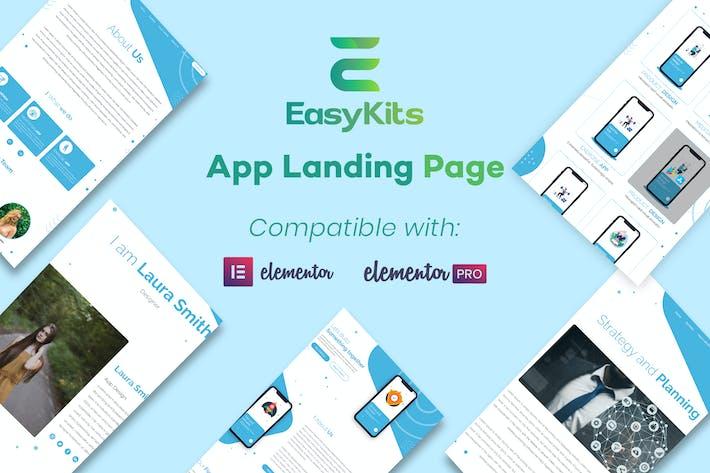 Thumbnail for AppLanding - Mobile App Template Kit