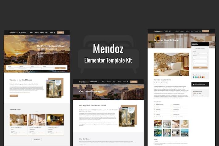 Thumbnail for Mendoz - Hotel & Travel Template Kit