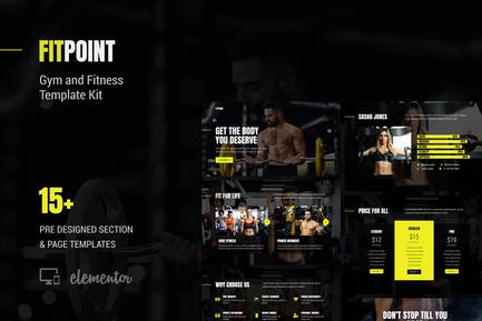 Fit Point - Gym & Fitness Template Kit