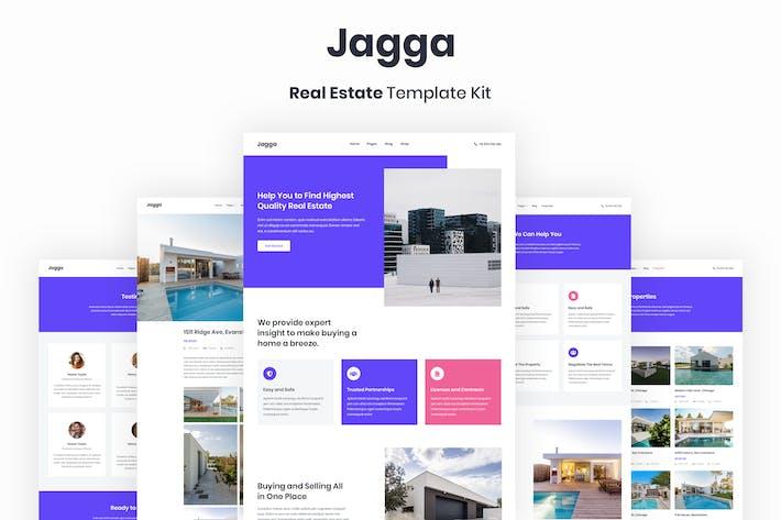 Jagga — Immobilien Vorlage Kit