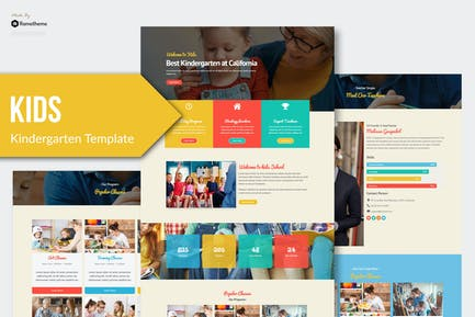 Kids - Kindergarten & Child Care Elementor Template Kit