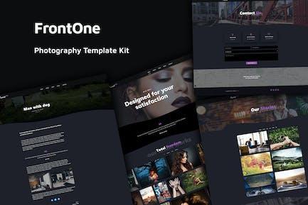 FronTone - Kit de Plantilla para fotografía creativa
