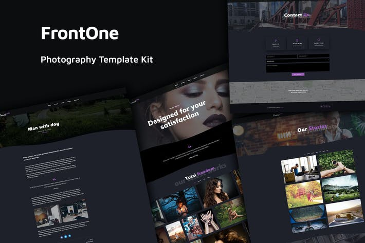 Thumbnail for FrontOne - Creative Photography Template Kit