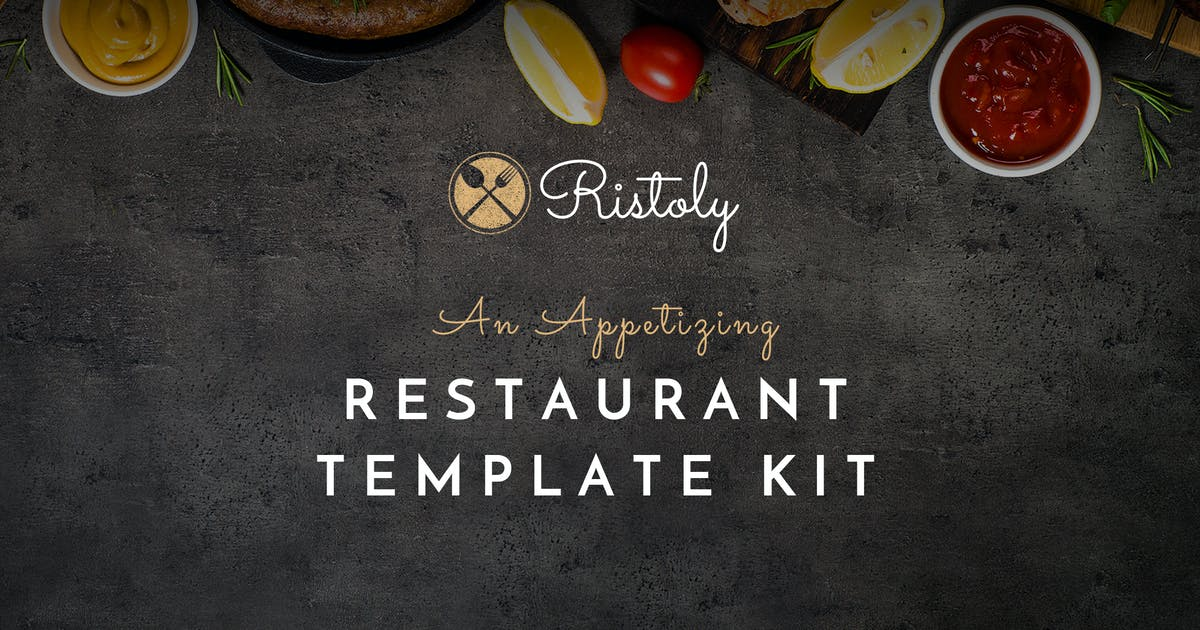 Download Ristoly - Restaurant Template Kit by ProgressionStudios