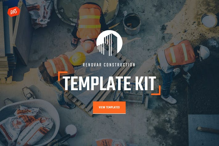 Thumbnail for Renovar - Construction Template Kit