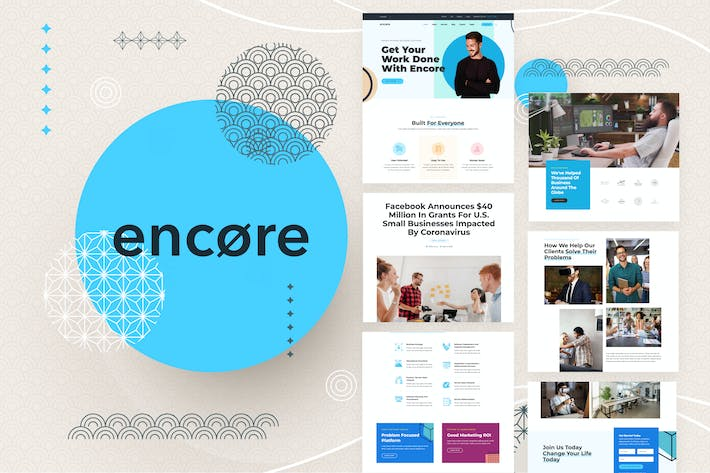 Thumbnail for Encore - Multi-purpose Business Template Kit