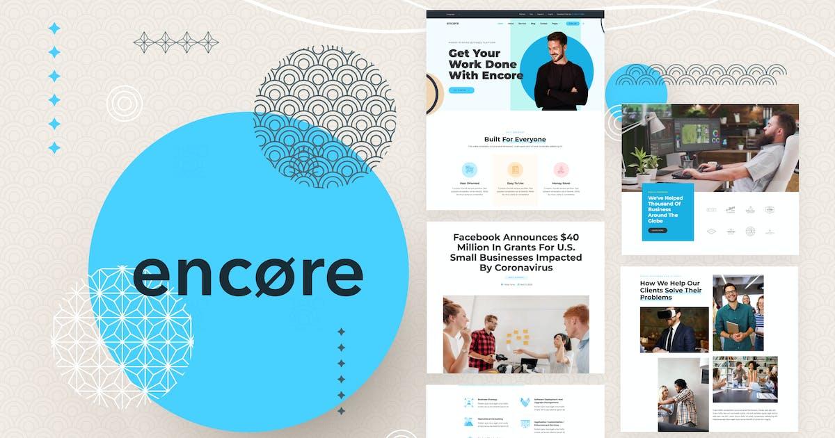 Download Encore - Multi-purpose Business Template Kit by deTheme