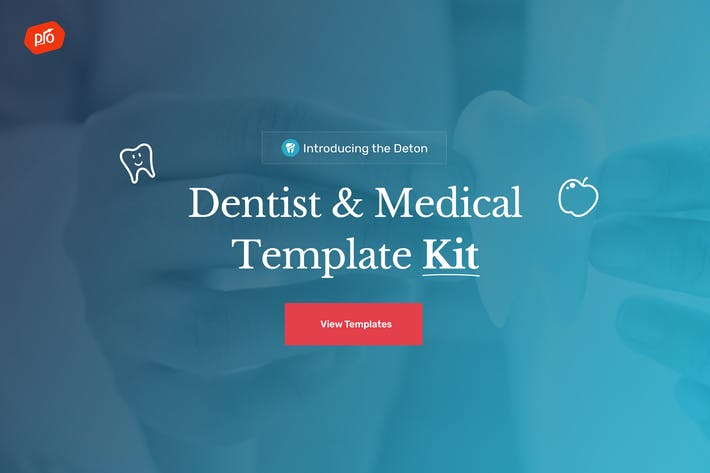 Thumbnail for Denton - Dentist Template Kit