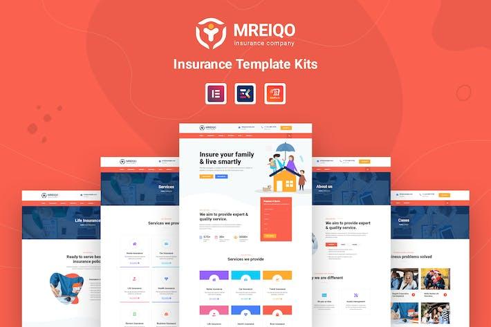Thumbnail for Mreiqo - Insurance Template Kits