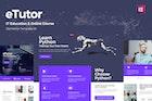 eTutor - Education & Online Course Elementor Template Kit
