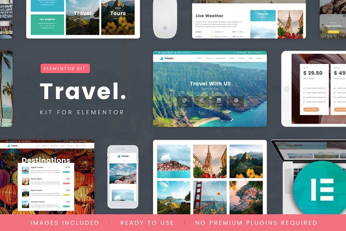 Thumbnail for TravelTour - Travel & Booking Template Kit