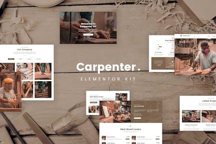 Ash - Carpenter Template Kit