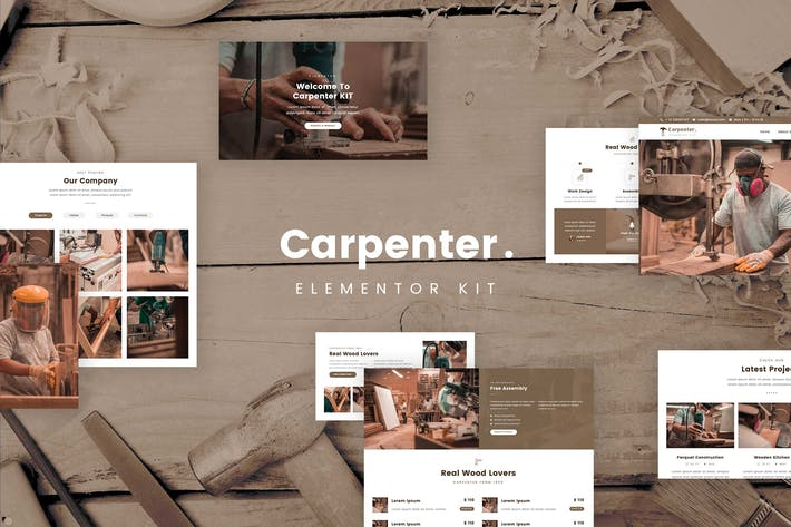 Cover Image For Ash - Carpenter Template Kit