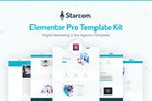 Starcom - Saas & Startup Template Kit