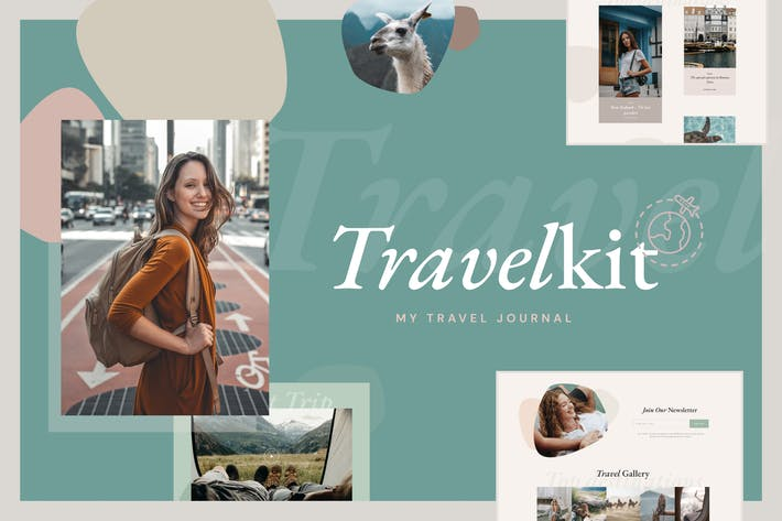 Thumbnail for TravelKit - Journal & Blog Template Kit for Elementor