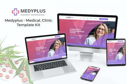 Medyplus - Kit de Plantilla médicas, clínicas
