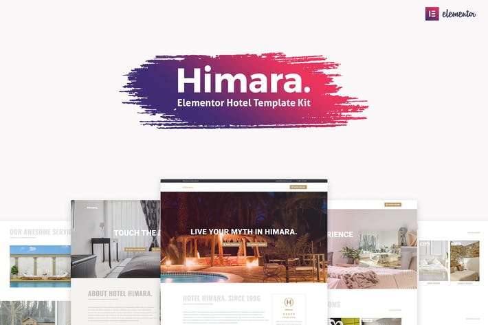 Thumbnail for Himara - Hotel Template Kit