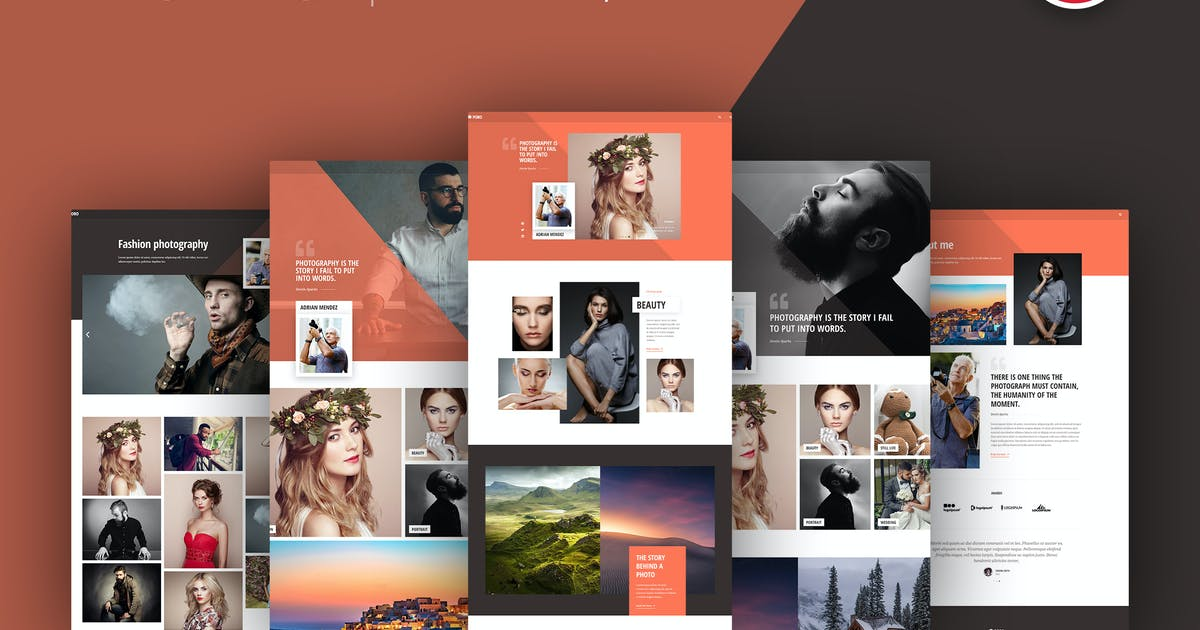 Download Poro - Photography Template Kit by C-Kav