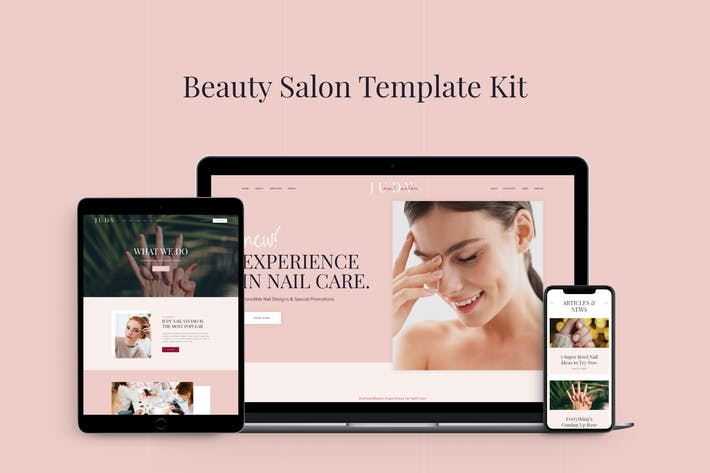 Thumbnail for Judy - Beauty Salon Template Kit
