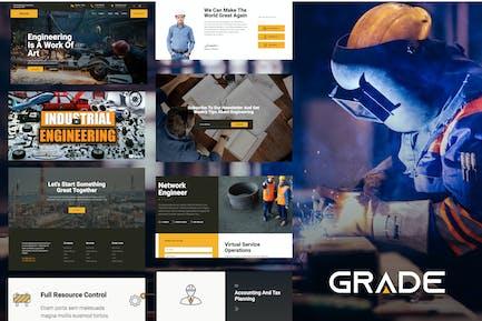 Grade - Engineering & Industrial Template Kit