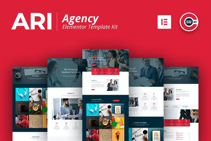 Thumbnail for ARI - Agency Template Kit