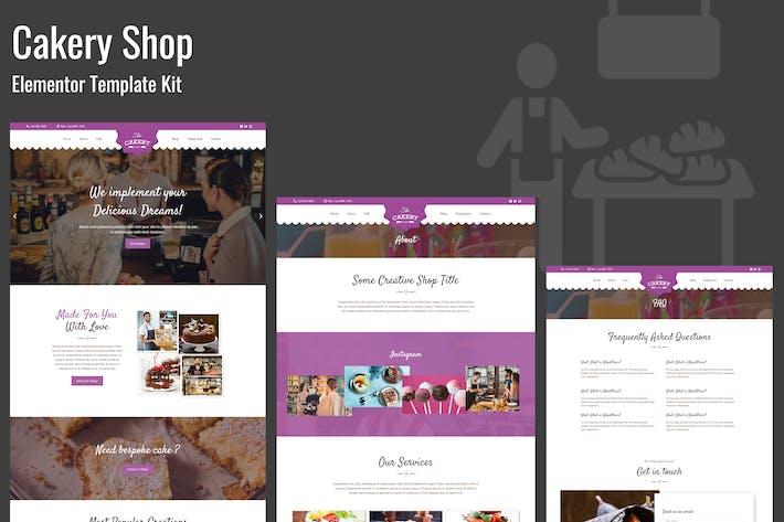 Thumbnail for Cakeryshop - Bakery Business Template Kit