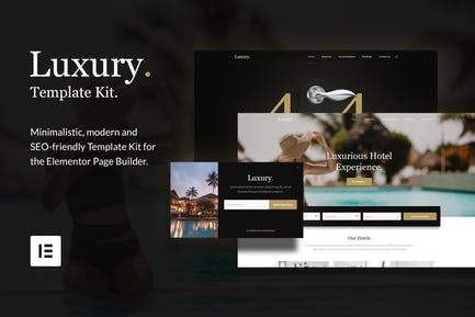 Luxury - Hotel & Resorts Template Kit