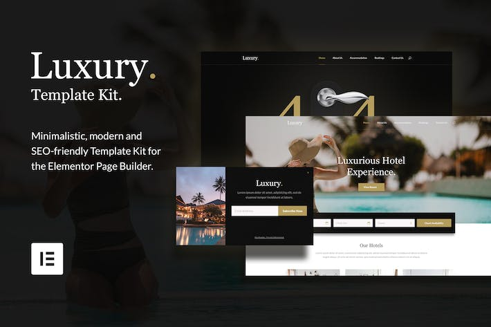 Thumbnail for Luxury - Hotel & Resorts Template Kit