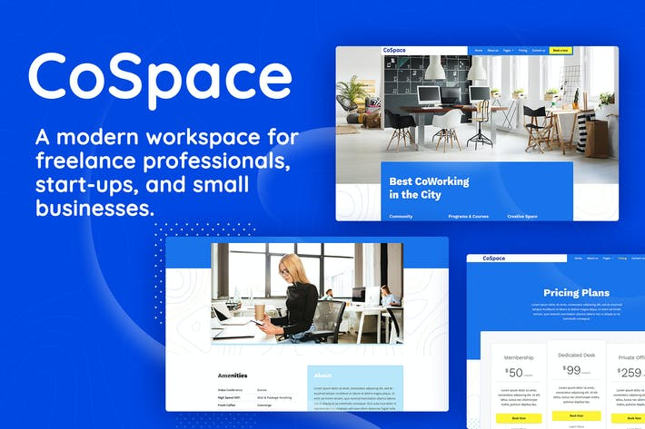 Thumbnail for CoSpace Coworking - Modern Workspace