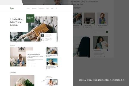 Doris - Blog & Magazine Template Kit