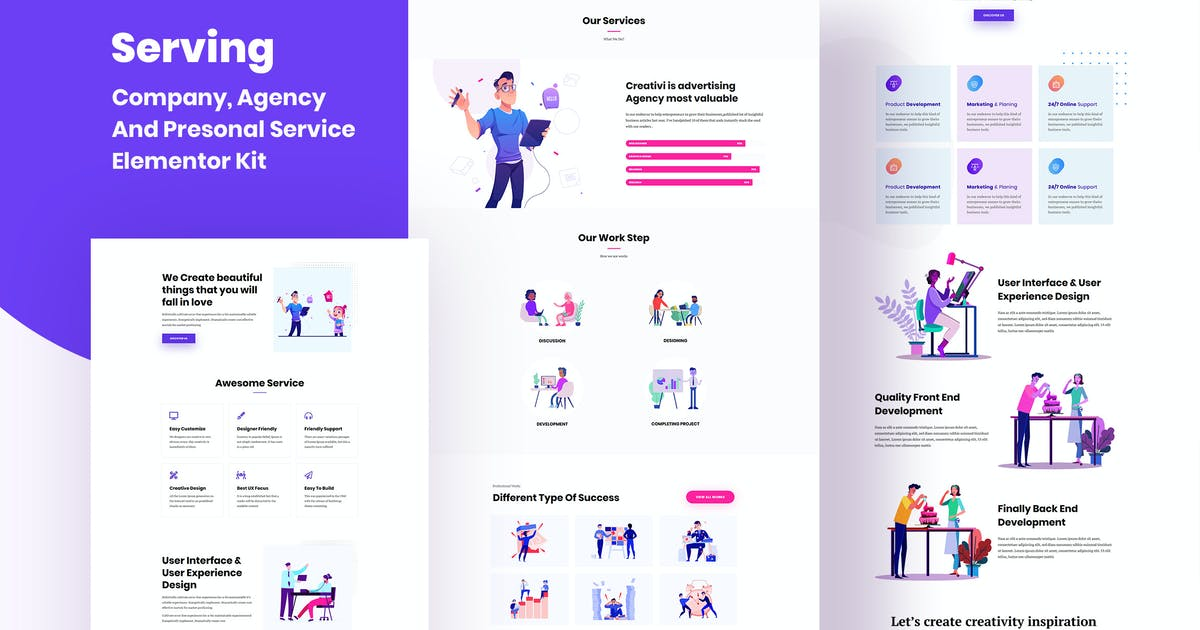 Download Serving - Service & Business Template Kit by SoftHopper