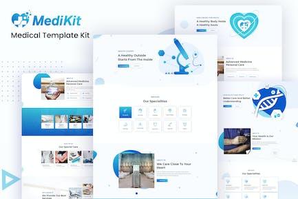MediKit - Medical Template Kit