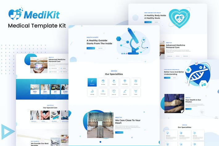 Thumbnail for MediKit - Medical Template Kit