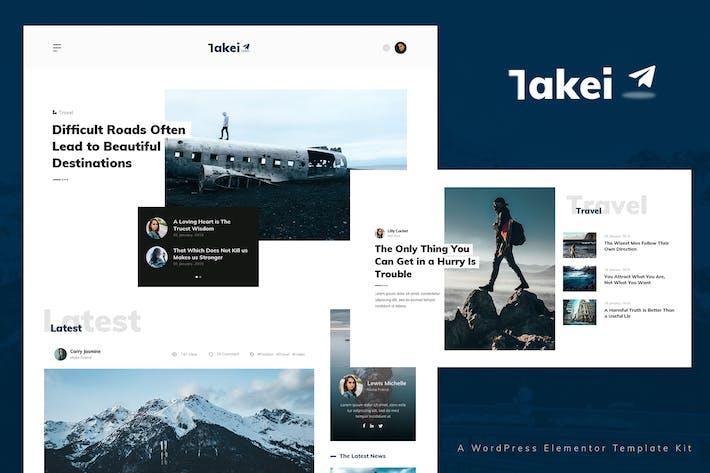 Thumbnail for Takei - Kit de Modelo de notícias e revistas
