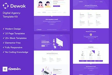 Dewok - Kit de Plantilla Agencia digital