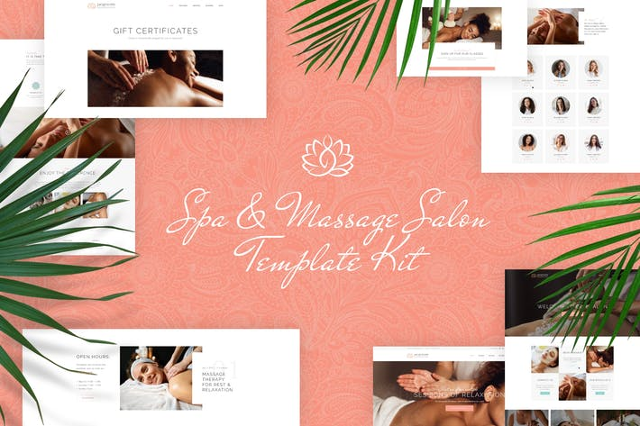 Thumbnail for Jacqueline - Spa & Massage Salon Elementor Template Kit