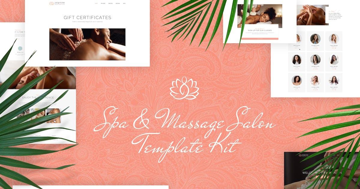 Download Jacqueline - Spa & Massage Salon Elementor Template Kit by ThemeREX
