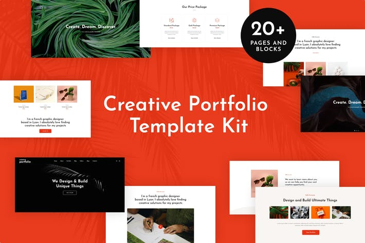 Thumbnail for Helion - Creative Portfolio Elementor Template Kit