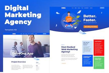 DMA - Digital Marketing Agency Template Kit
