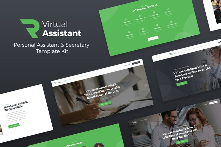 Thumbnail for Revirta - Virtual Assistant Business Template Kit