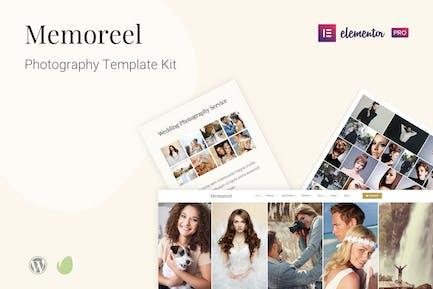 Memoreel - Template Kit fotográficas