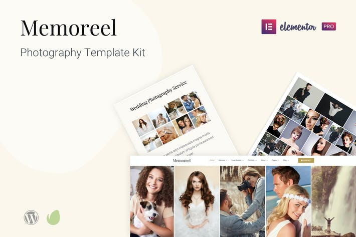 Thumbnail for Memoreel - Photography Template Kit