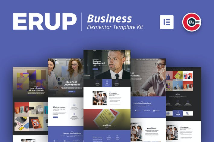 Thumbnail for Erup - Business Template Kit